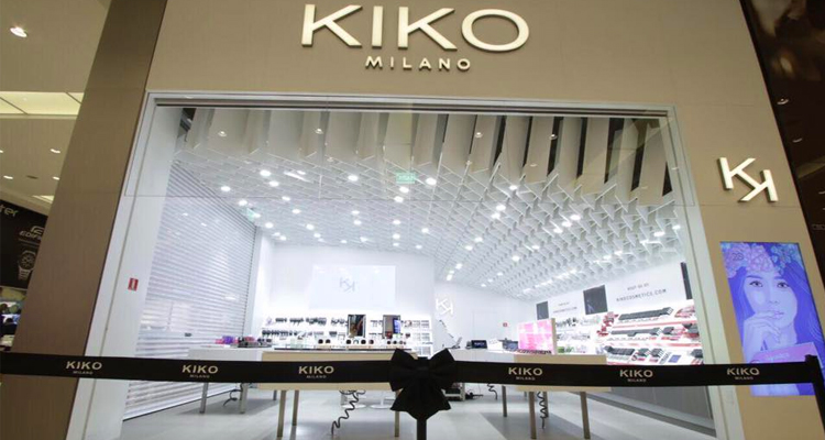 bd932b226 Kiko Milano inaugura loja no shopping Center Norte